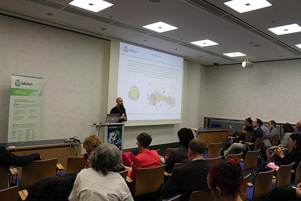 Prof. Dr. Alan Goddard (Aston University) coordinator of project MeMBrane (Source: FNR)