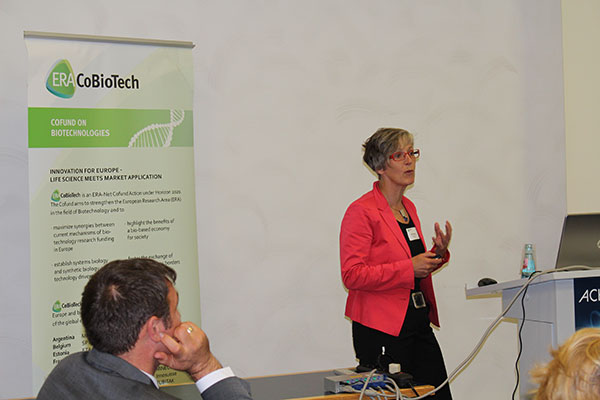 "Prof. Dr. Bettina Siebers (University of Duisburg-Essen, Germany), coordinator of the project ""HOTSOLUTE"""